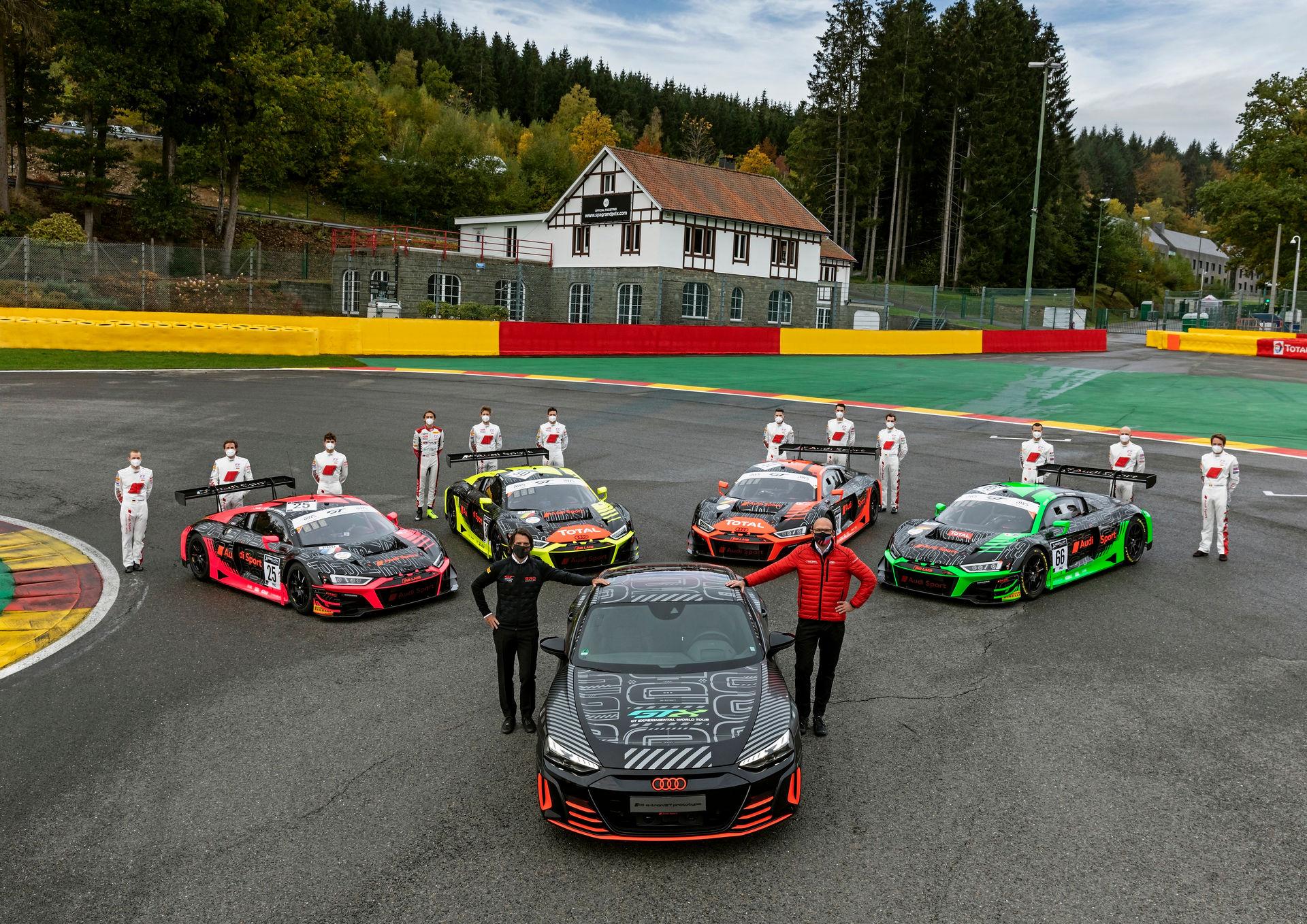 Audi RS e-Tron GT na torze