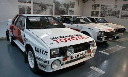 Słynne Toyoty z torów i tras rajdowych
