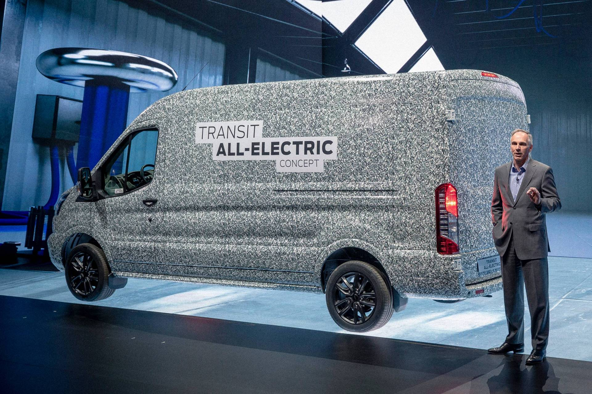 Ford Transit z napędem elektrycznym
