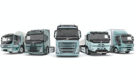 Elektryczne ciężarówki Volvo