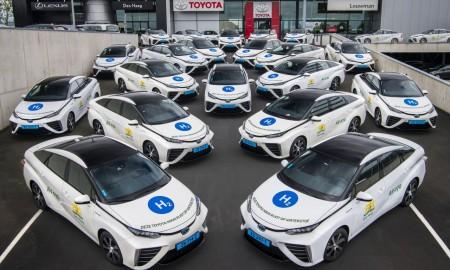 Wodorowe taksówki przejechały już 1,5 mln km