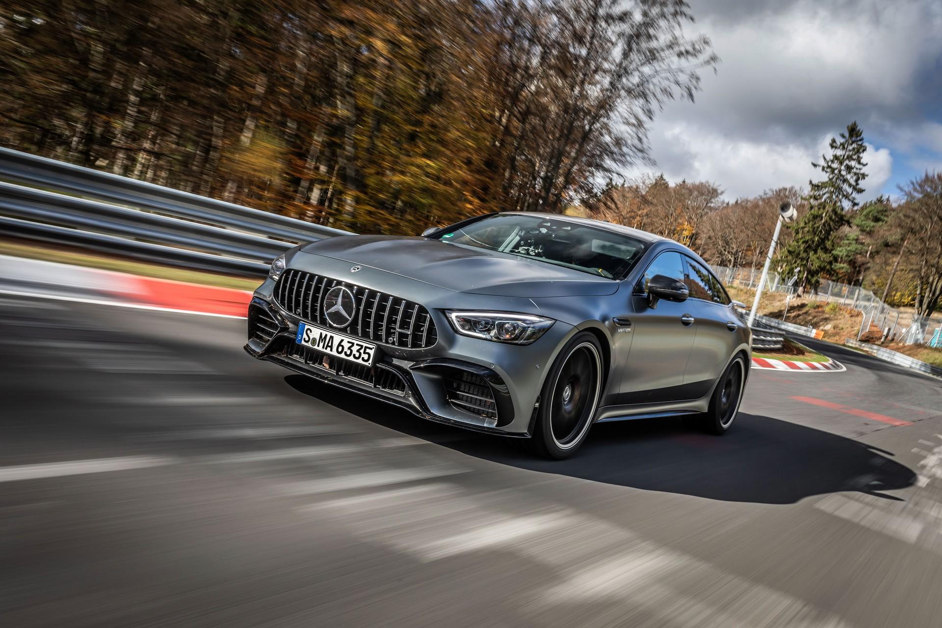 Mercedes pobił rekord Porsche
