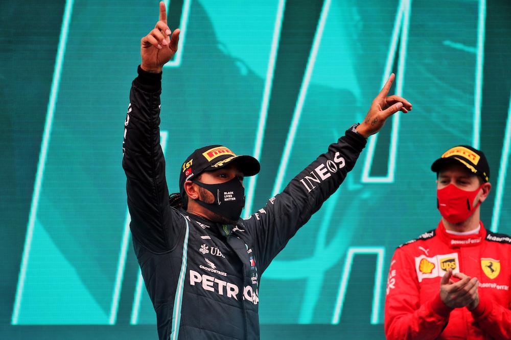 Lewis Hamilton po raz siódmy mistrzem