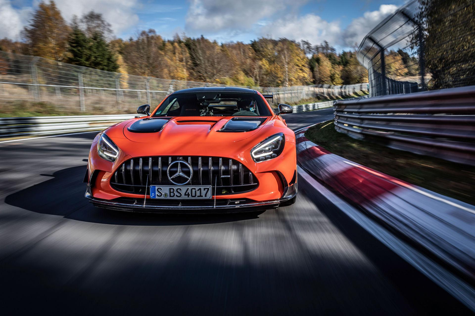 Mercedes-AMG GT Black Series najszybszym seryjnym autem na Nürburgringu