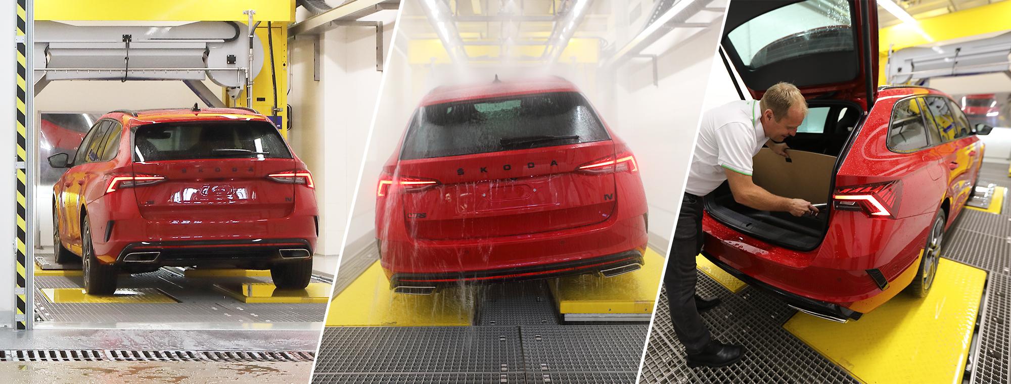 Jak Skoda testuje wodoszczelność samochodów?