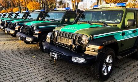 Straż Graniczna wybrała Jeepa Wranglera