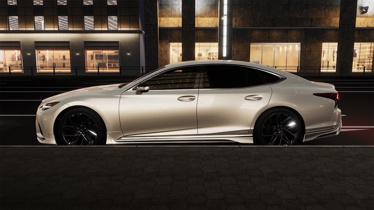 Lexus LS - Limuzyna dla prezesa na sterydach