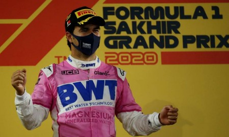 Sergio Pérez zwycięzcą Sakhir Grand Prix