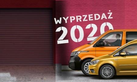 Volkswagen Samochody Dostawcze - wyprzedaże 2020
