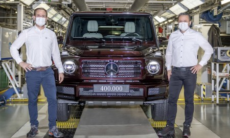 400-tysięczny Mercedes Klasa G