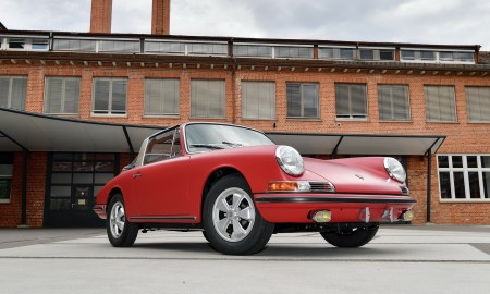 Porsche 911 S Targa po fabrycznej renowacji