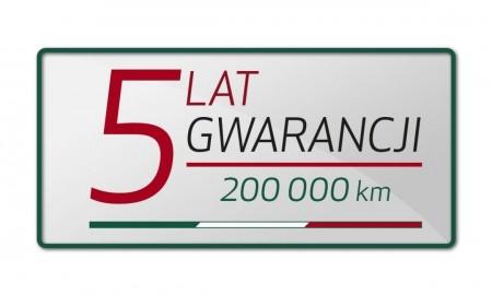 Alfa Romeo z 5-letnią gwarancją