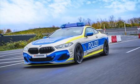 BMW M850i Coupe AC Schnitzer – Ten radiowóz dogoni każdego na autostradzie