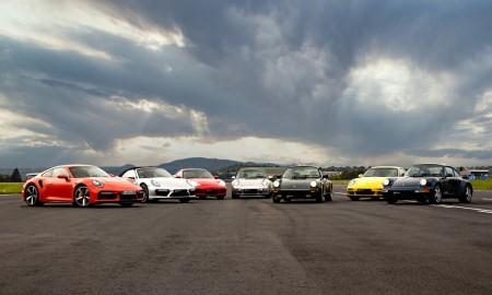Porsche 911 Turbo – wszystkie generacje na torze
