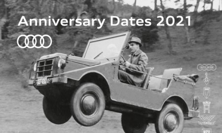 Najważniejsze daty Audi roku 2021