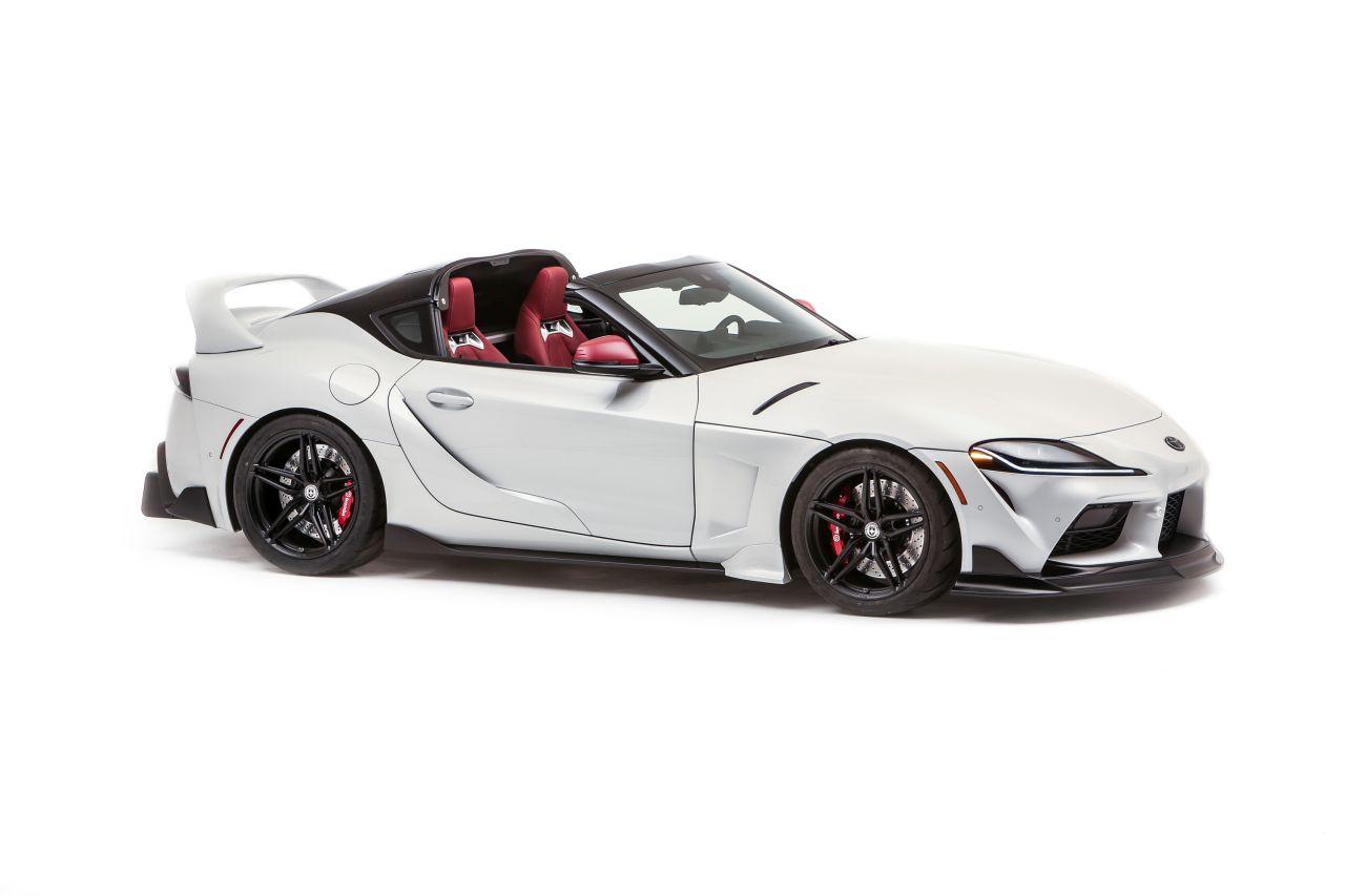 Toyota GR Supra w wersji targa