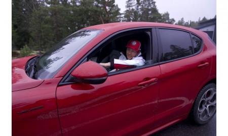 Kimi Räikkönen wybrał Alfę Romeo Stelvio