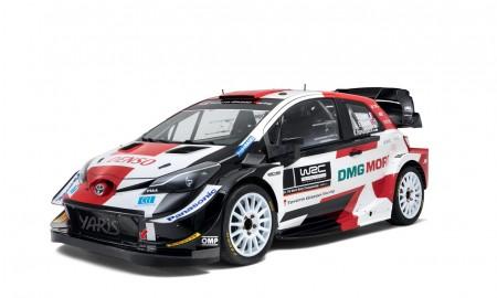Toyota Yaris WRC w nowych barwach na sezon 2021