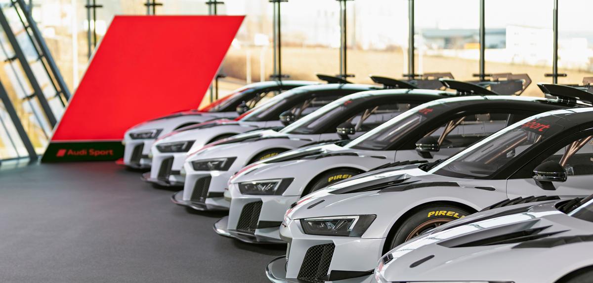 Audi Sport customer racing  - plany na rok 2021