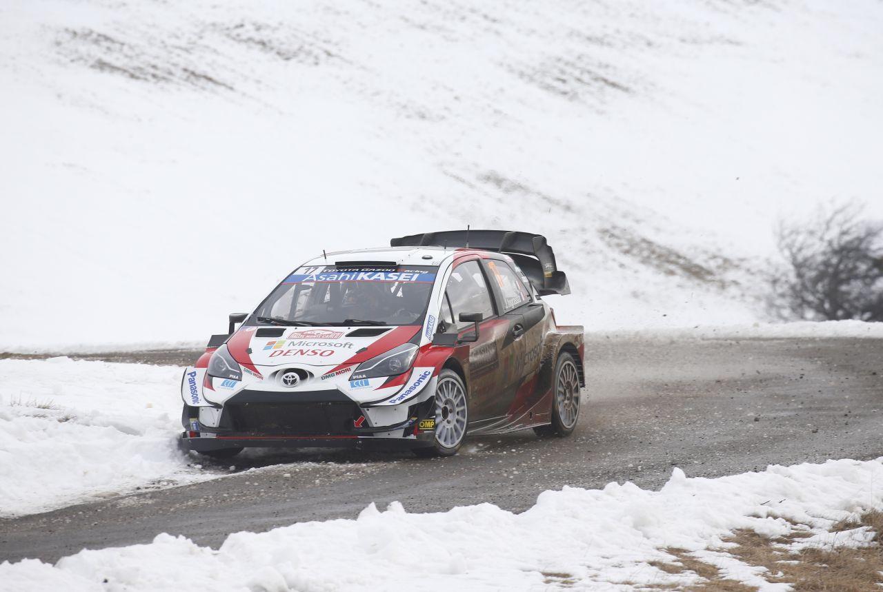 Rajd Monte Carlo – Toyota walczy o podium