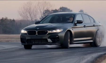 BMW M5 CS – 100 km/h poniżej 3 sek.