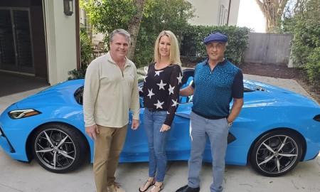 Sylvester Stallone sprawił sobie cabrio Corvette C8