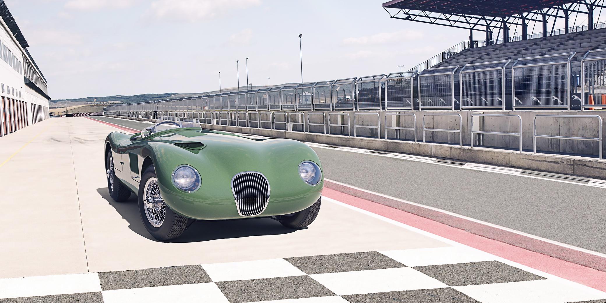 Jaguar C-Type – Powrót ikony