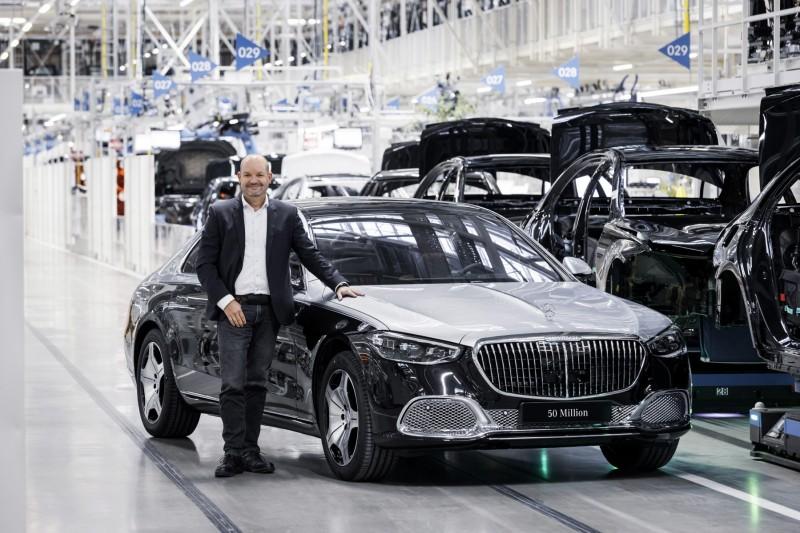 50-milionowy Mercedes