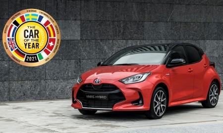 Toyota Yaris Europejskim Samochodem Roku 2021