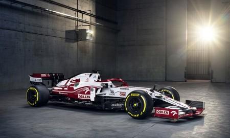 Nowy bolid zespołu Alfa Romeo Racing ORLEN