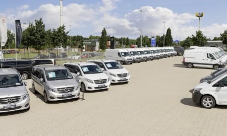 Używane dostawcze Mercedesy z certyfikatem