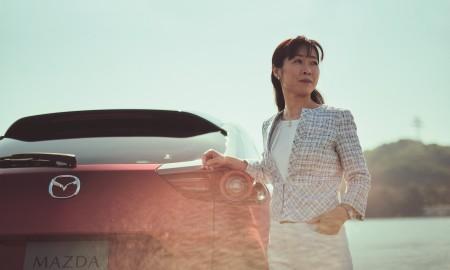 Tomiko Takeuchi - szefowa projektu elektrycznej Mazdy MX-30