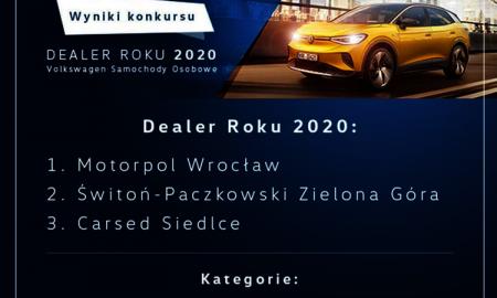 """Volkswagen  - """"Dealer roku 2020"""""""