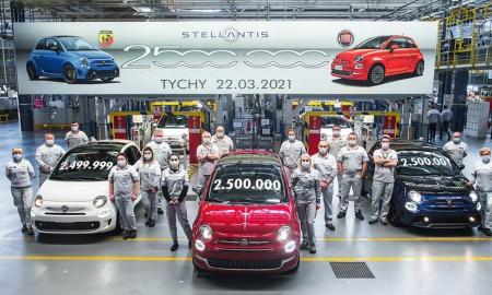 Dwuipółmilionowy Fiat 500