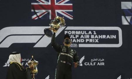 Lewis Hamilton rozpoczął sezon 2021