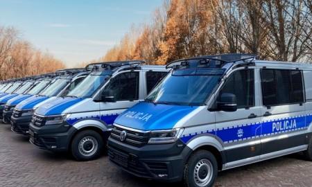 Nowe Volkswageny Crafter dla polskiej policji