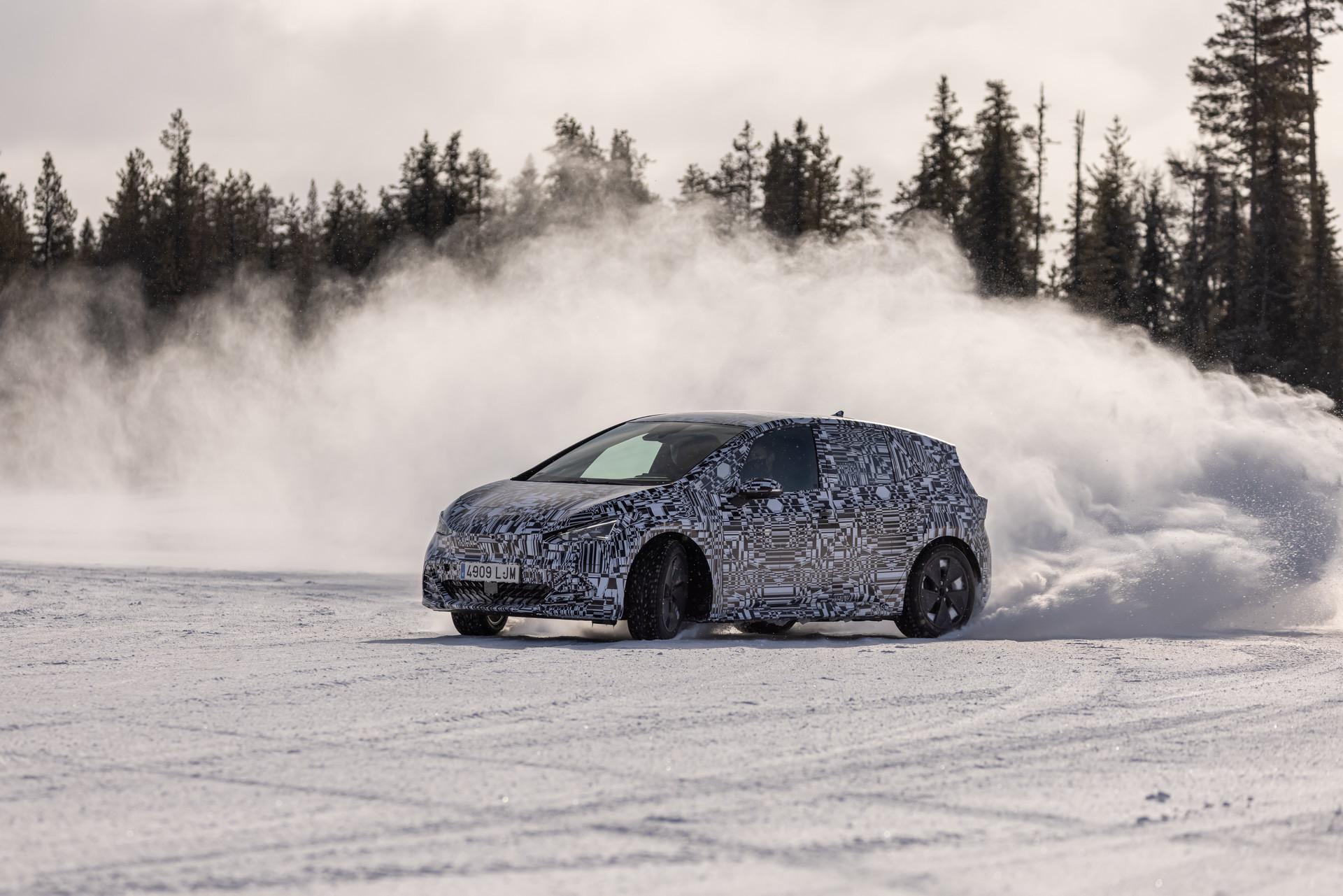 Cupra Born – Drift w arktycznym klimacie