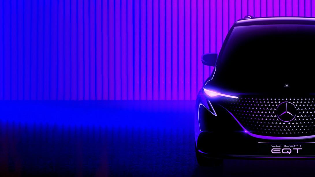 Concept EQT - nowa klasa w gamie Mercedesa