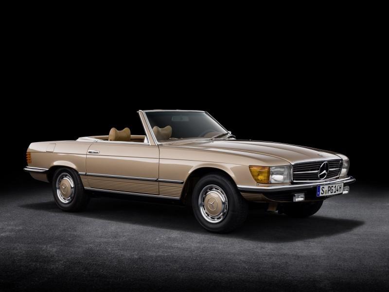 50. urodziny Mercedesa SL serii R 107