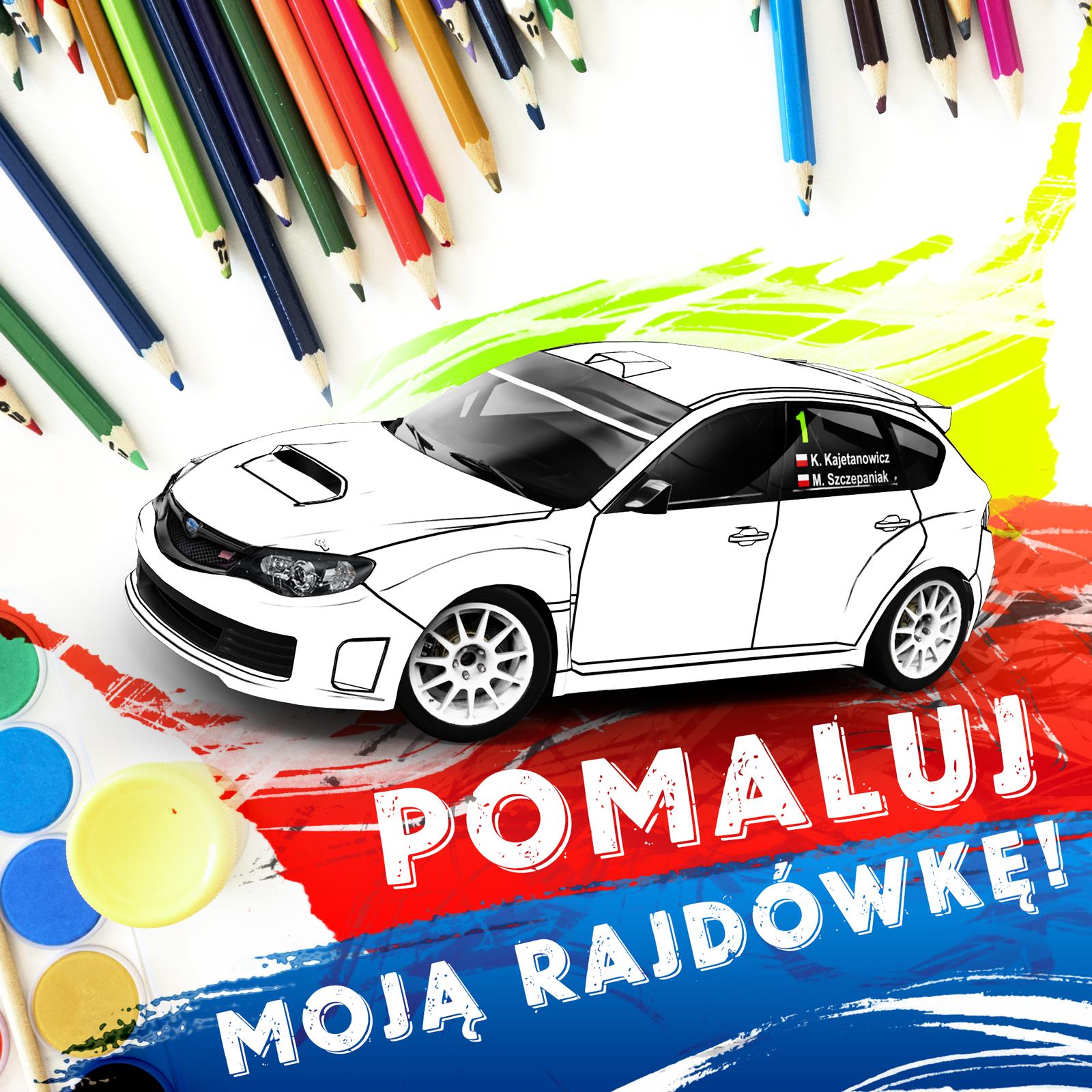 Pomaluj rajdówkę Kajetana Kajetanowicza!