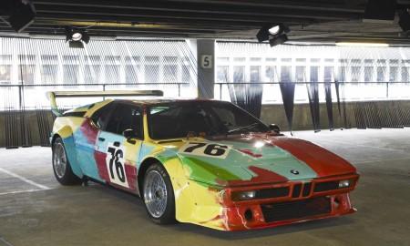 Plenerowa wystawa BMW Art Cars w Warszawie