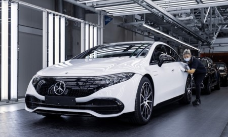 Ruszyła produkcja Mercedesa EQS w Factory 56