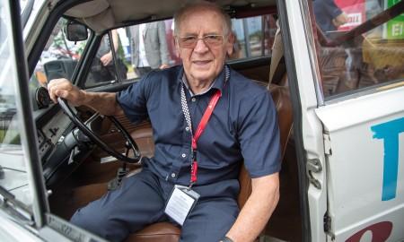 91-letni mistrz Sobiesław Zasada znów w rajdowym aucie