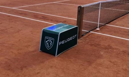 Samochody Peugeota na turnieju Rolanda Garrosa