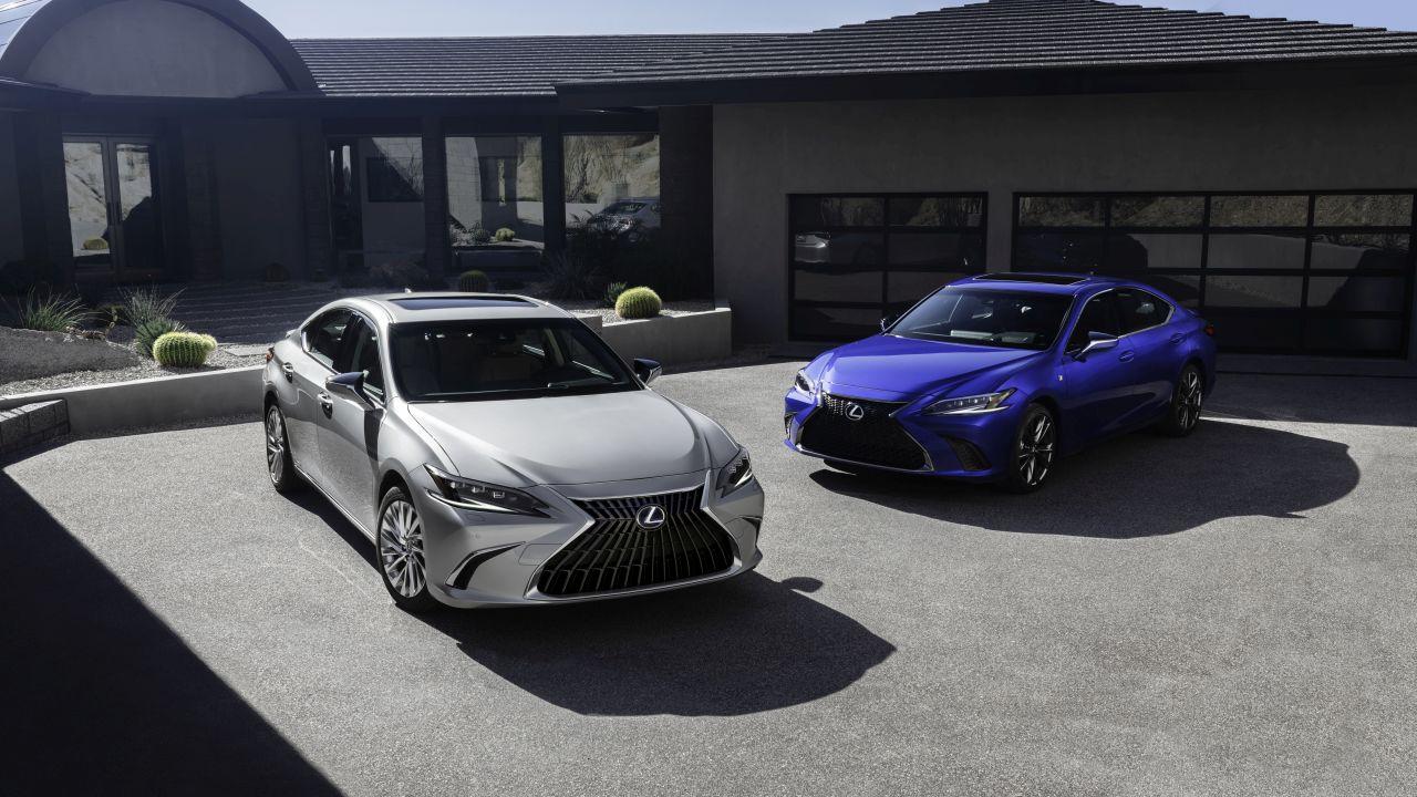 Lexus ES lifting – W świecie ciszy