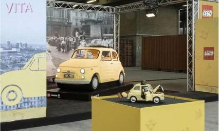 Fiat 500 od LEGO