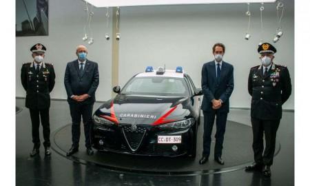 Alfa Romeo Giulia dla Korpusu Karabinierów