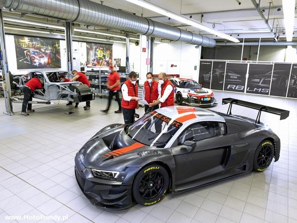 Rekord produkcji Audi R8 LMS