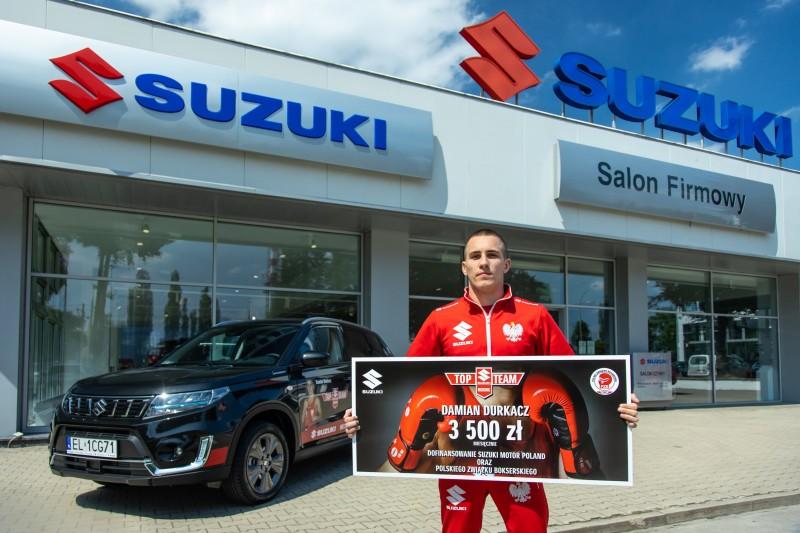 Damian Durkacz dołączył do Suzuki Top Team