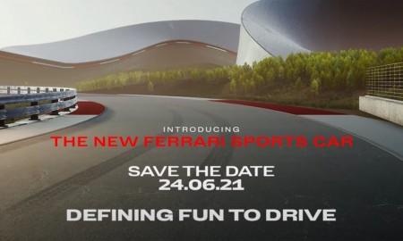Nowy model Ferrari – premiera już 24 czerwca